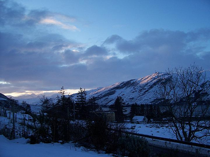 Ardcharnich and Loch Broom in the winter